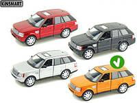 KINSMART оранжевый Range Rover Sport, метал, инерц., в кор. 16х8х7 /96-4/