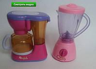Детский игровой набор: кофеварка и блендер 2929B