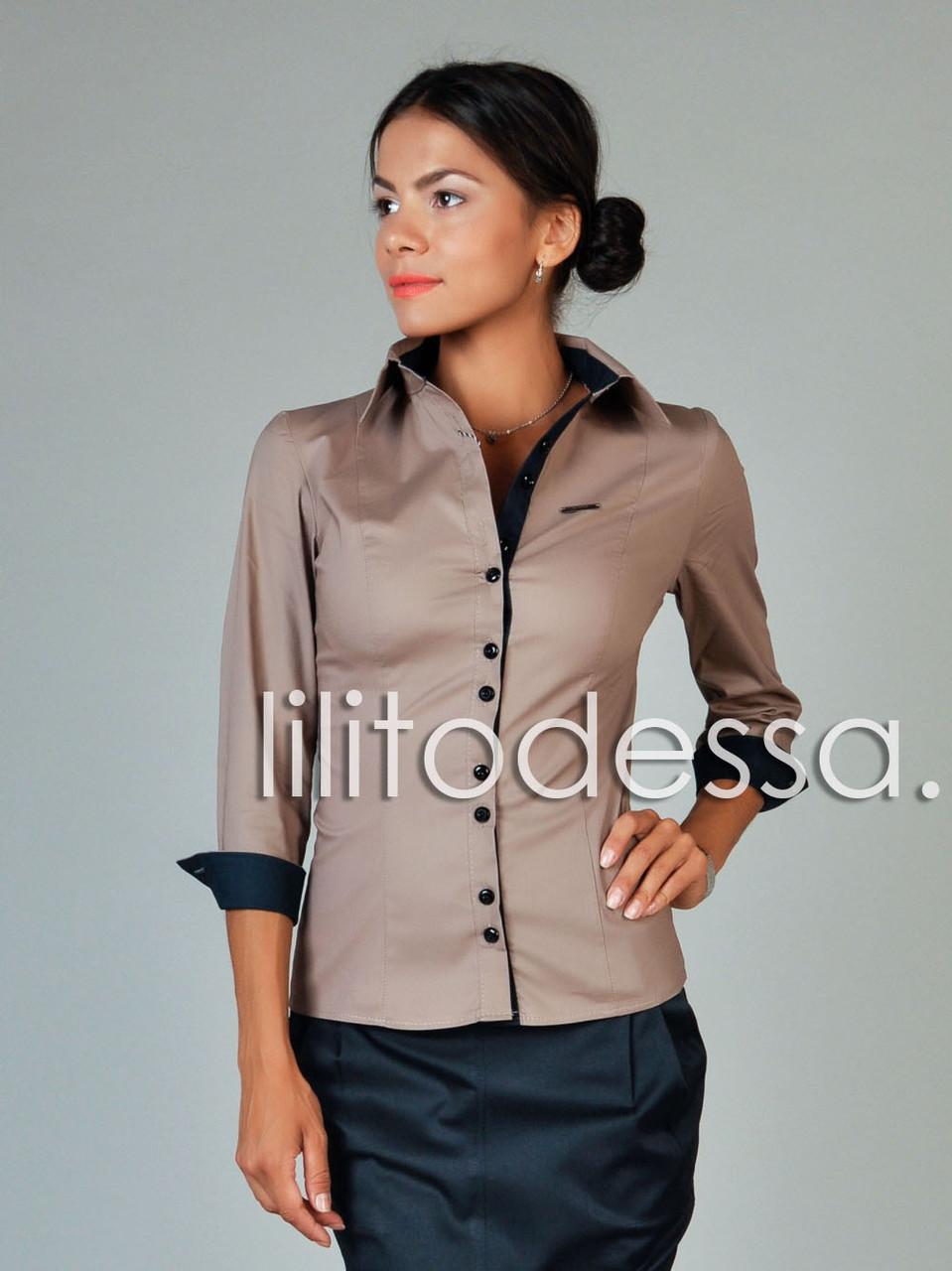 Офисные рубашки блузки купить