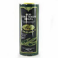 Оливковое масло Oleada extra vergine di oliva в жестяной банке 1 л