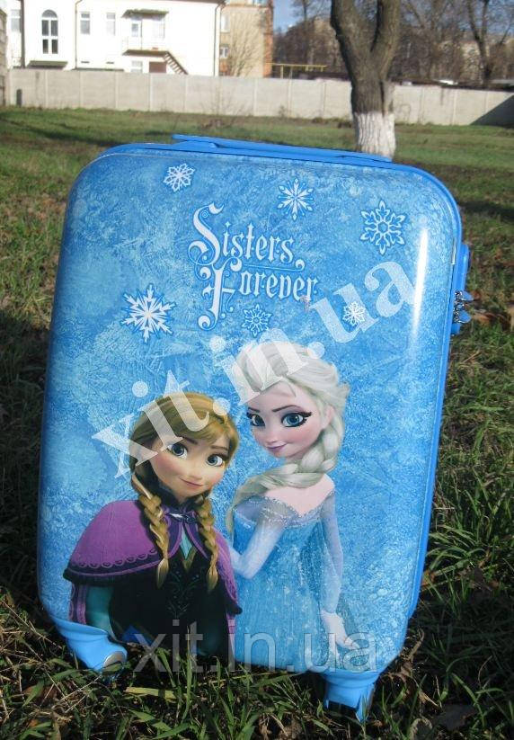 """Детские чемоданы 18"""" на 4 колесах Frozen"""