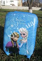 """Детские чемоданы 18"""" на 4 колесах Frozen, фото 1"""