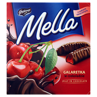 Конфеты желе в шоколаде Mella Goplana вишня, 190 гр