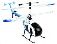 Вертолёт на радио управлении 4-к микро р/у 2.4GHz Xieda 9988 Police копийный соосный, фото 1