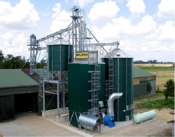 Cушилка зерна шахтная NDT от немецкого производителя