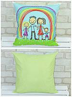 Подушка «Детские рисунки», Loskutini