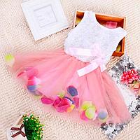 Детские платья для малышек 06-12 месяцев