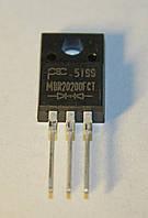 Диод Шоттки MBR20200FCT  (TO-220A)