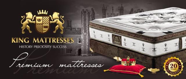 Матрасы - Модели от ТМ King Mattresses - Матролюкс