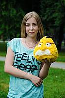 Мягкая игрушка Злые птицы «Angry birds»  Чак ТМ My Best Friend (Украина) желтый