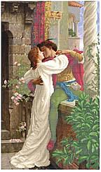 """Схема для вышивки бисером на атласе """"Ромео и Джульетта"""""""
