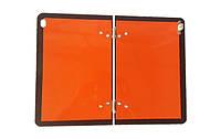 """Складная табличка """"Опасный груз"""" светоотражающая металлическая 250Х400 мм с карманом"""