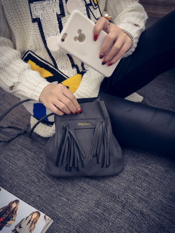 Компактная мини сумка мешок JinPinPJ, фото 1