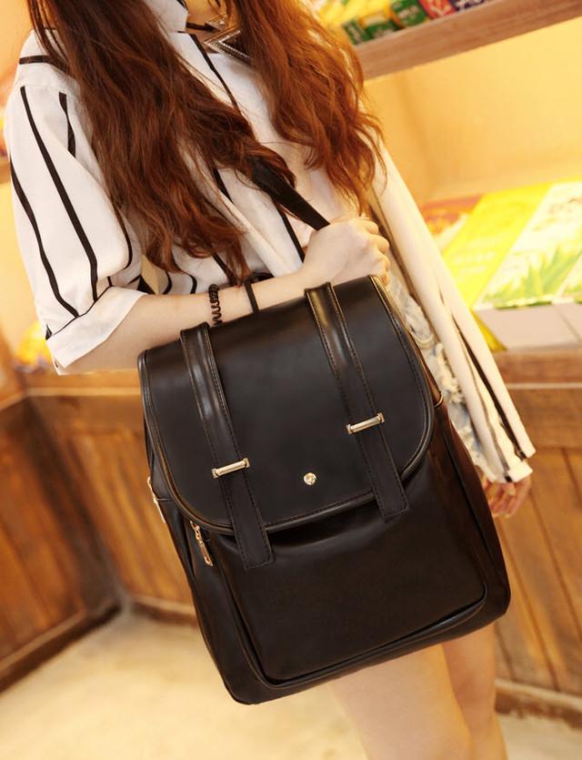 Большой трендовый  рюкзак городского стиля , фото 1