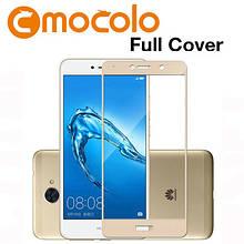 Защитное стекло Mocolo Full сover для Huawei Nova Lite 2017 золотой