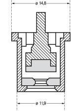 Розпилювач садовий керамічний Lechler TR в асортименті, фото 2
