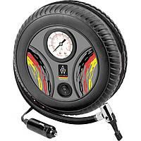 Автомобильный компрессор  AUTO WELLE AW02-12 12v 9A 20л/мин (колесо)