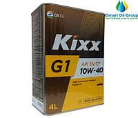 Моторное масло KIXX G1 10W-40 4л (API SN/CF)