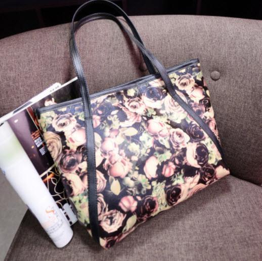 Стильные сумки с цветами, фото 1