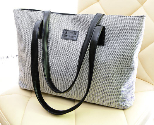 Вместительная тканевая сумка шоппер, фото 1