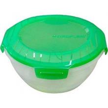 Вакуумный судочек HILTON FS-R 08 Green 1,5L контейнер для продуктов антибактериальный
