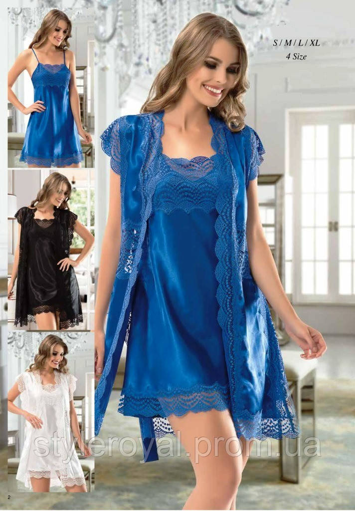 f8b2dd51790964c ... Пеньюары и ночные рубашки; Нежный пеньюар комплект. Нежный пеньюар  комплект