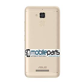 Оригинальная задняя панель корпуса (крышка) Asus Zenfone 3 Max (ZC520TL) (Золотая)