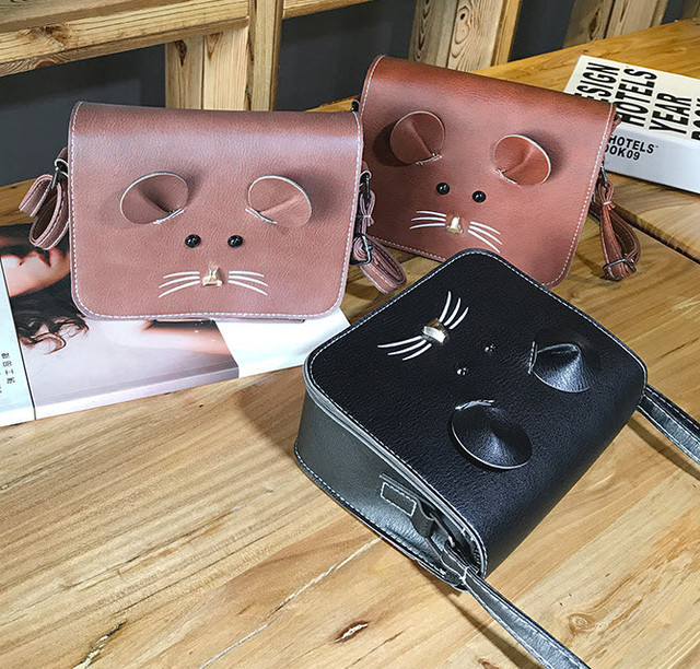 Милая сумка-почтальон мышка, мышонок , фото 1