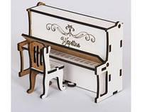 Пианино маленькое 12х13 М