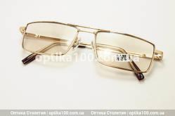 Ізюмські окуляри для зору хамелеони з діоптріями. Скляні лінзи