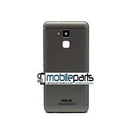 Оригинальная задняя панель корпуса (крышка) Asus Zenfone 3 Max (ZC520TL) (Серая)