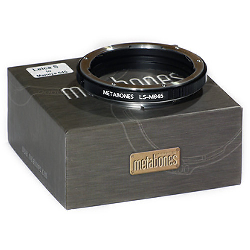 Metabones Mamiya 645 Lens to Leica S Camera Lens Mount Adapter (MB_M645-LS-BM1)
