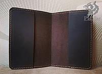 Шкіряна обкладинка для паспорта, обкладинка на паспорт