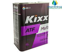 ЖИДКОСТЬ ДЛЯ АВТОМАТИЧЕСКИХ КОРОБОК ПЕРЕДАЧ  Kixx ATF Multi 4л
