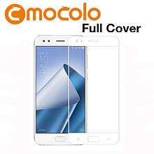 Защитное стекло Mocolo Full сover для Asus Zenfone 4 ZE554KL белый