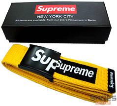Ремень Supreme Yellow