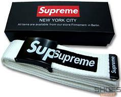 Ремень Supreme White