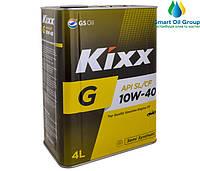 Моторное масло KIXX G 10W-40 4л (API SL/CF)