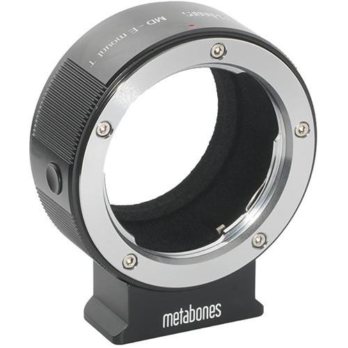Metabones Minolta MD Lens to Sony E-Mount Camera T Adapter (Black) (MB_MD-E-BT1)