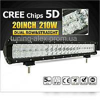 LED Прожектор Combo 5D Premium  210W / 42led / 505мм