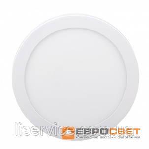 Світильник Евросвет LED-SR-225-18 18Вт 6400К круг накладной, фото 2