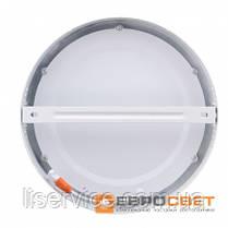 Світильник Евросвет LED-SR-225-18 18Вт 6400К круг накладной, фото 3