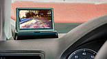 """Автомобильный монитор TFT 4.3"""" дюйма для парковки  (на две камеры)  складной, фото 3"""