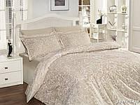 Комплект постельного белья First Choice Satin Cotton семейный Sweta ekru