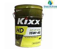 Моторное масло KIXX  15W-40 20л
