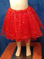 Спідниця-пачка червона 3-7 років