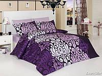 Комплект постельного белья First Choice Satin Cotton сатин евро арт.Laura mor