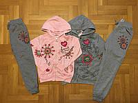 Трикотажный костюм 2 в 1 для девочек оптом, F&D, 134/140-158/164 см., № 3633