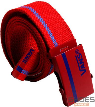 Ремень Vans Red/Blue, фото 2