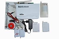 Комплект беспроводной GSM сигнализации 10А стандарт комплекция №3
